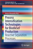 Process Intensification Technologies for Biodiesel Production : Reactive Separation Processes, Kiss, Anton Alexandru, 3319035533