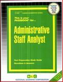 Administrative Staff Analyst, Jack Rudman, 0837315530