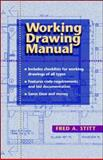 Working Drawing Manual, Stitt, Fred A., 0070615543
