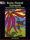 Rain Forest Wildlife, Jan Sovak, 0486415546
