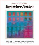 Elementary Algebra, Kaufmann, Jerome E. and Schwitters, Karen, 053436554X