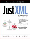 Just XML, Simpson, John E., 013018554X