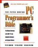 PC Programmer's Bible, Norton, Peter, 1556155557