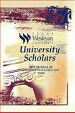 University Scholars, Texas Wesleyan University, 1441505555