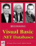 Visual Basic .NET Databases, Gosnell, Denise M. and Forgey, Bill, 1861005555