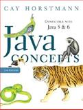 Java Concepts : Compatible with Java 5 and 6, Horstmann, Cay S., 0470105550