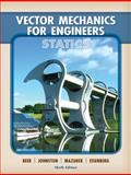 Vector Mechanics for Engineers : Statics, Beer, Ferdinand P. and Johnston, E. Russell, Jr., 007727556X