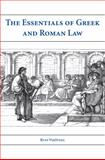 The Essentials of Greek and Roman Law, VerSteeg, Russ, 1594605564
