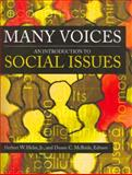 Many Voices : An Introduction to Social Issues, Helm, Herbert W. and McBride, Duane C., 1883925568