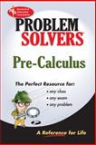 Pre-Calculus, Research & Education Association Editors and Dennis C. Smolarski, 0878915567