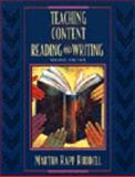 Teaching Content Reading and Writing, Ruddell, Martha Rapp, 0471365572