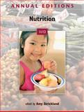 Annual Editions: Nutrition 11/12, Strickland, Amy, 0073515574