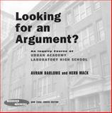 Looking for an Argument?, Barlowe, Avram and Mack, Herb, 080774557X