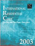 International Residential Code 2003, International Code Council Staff, 1892395576