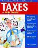 Taxes for Busy People, 1998, Cooke, Robert, 0070125570