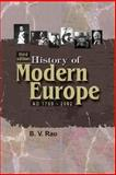History of Modern Europe AD1789-2002, Rao, B. V., 1932705570