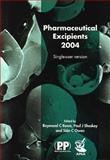 Pharmaceutical Excipients, , 0853695571