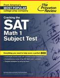 Cracking the SAT Math 1 Subject Test, Princeton Review, 0804125589
