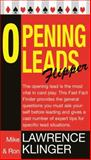 Opening Leads Flipper, Ron Klinger and Mike Lawrence, 0297855581