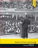 Rhetorical Public Speaking 9780205665587