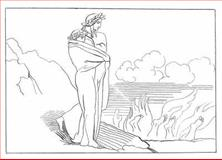 Flaxman's Illustrations for Dante's Divine Comedy, John Flaxman and Dante Alighieri, 0486455580