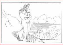 Flaxman's Illustrations for Dante's Divine Comedy, John Flaxman and Dante Alighieri, 0486455580