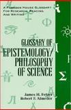 Glossary Epistemology, Fetzer, James and Almeder, Robert F., 1557785589