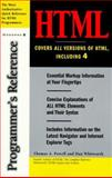 HTML Programmer's Reference, Powell, Thomas A. and Whitworth, Dan, 0078825598