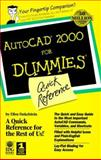 AutoCAD Release 15 for Dummies : Quick Reference, Finkelstein, Ellen, 0764505599