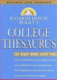 Random House Roget's College Thesaurus, RH Disney Staff, 0375425594
