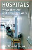 Hospitals : What They Are and How They Work, Snook, I. Donald, 0763745596