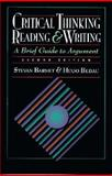 Critical Thinking, Reading, and Writing, Barnet, 0312115598