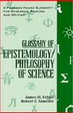 Glossary Epistemology, Fetzer, James and Almeder, Robert F., 1557785597