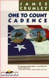 One to Count Cadence, James Crumley, 0394735595