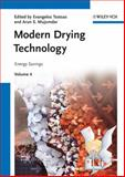 Modern Drying Technology Vol. 4 : Energy Savings, , 3527315594
