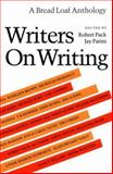 Writers on Writing, , 0874515602