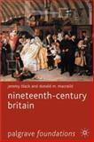 Nineteenth-Century Britain, Black, Jeremy and MacRaid, Donald M., 0333725603