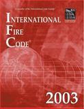 International Fire Code 2003, International Code Council Staff, 1892395606