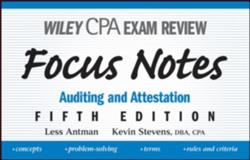 Auditing and Attestation, Antman, Less and Stevens, Kevin, 0470195606