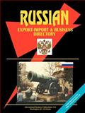 Russia Exporters and Importers Directory, Usa Ibp, 073970561X