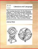 The Musical Law-Bird on the Following Subject, Joshua West, 1170495613