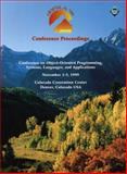 OOPSLA `99 Conference Proceedings 9780201485615