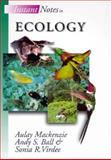 Ecology, MacKenzie, A. and Ball, A., 0387915613