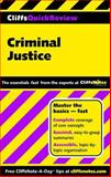Criminal Justice, Cliffs Notes Staff and Dennis Hoffman, 0764585614