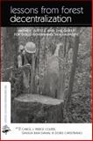 Lessons from Forest Decentralization, , 0415845610