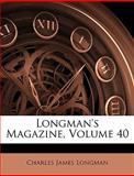 Longman's Magazine, Charles James Longman, 1144005612