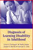 Diagnosis of Learning Disability in Adulthood, Flanagan, Dawn P. and Bernier, Joseph E., 0205335616