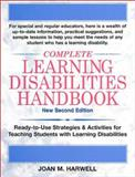 Complete Learning Disabilities, Joan M. Harwell, 0130325627