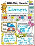 Personal Poster Set: My Name, Liza Charlesworth, 054553562X