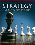 Strategy : A View from the Top, De Kluyver, Cornelis A. and Pearce, John A., 0132145626